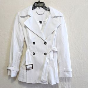 White house black market trench coat